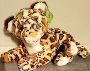 Vintage Leopard/cheetah /spotted Cat Sugarloaf Plush1992 With Tags