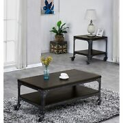 Best Quality Furniture Industrial 2-piece Coffee And End