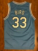 Larry Bird 33 Jersey Indiana State Menand039s Basketball Jersey All Stitched S-xxl