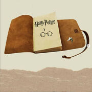 Leather Journal Notebook With Lock And Key Harry Potter Themed Journal Notebook