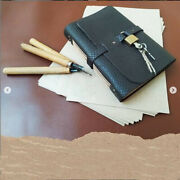 Leather Journal Notebook With Lock And Key Journal Notebook Vintage Notebook