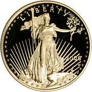 2005-w American Gold Eagle Proof 1/2 Oz 25 - Coin In Capsule