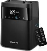 Cool Mist Humidifier 5.5l 1.45gal W/ Led Touch Display And Remote Control