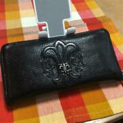 Original Included Chrome Hearts Rec F-zip Bs Flare Wallet