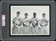 Frank Robinson 1955 Rookie Reds Type 1 Original Photo Psa/dna Very Early 1955