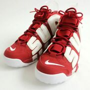Men 10us 17ss Supreme Nike Air More Up Tempo 902290-600 High Cut Sneakers/bash