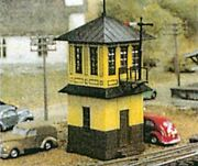 Tichy Trains N Scale Wooden Style Signal Tower Kit 2   26012
