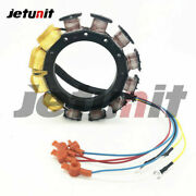 For Mercury/mariner 90hp-200hp Outboard Stator 9amp 2-stroke 6-cylinder 174-5456