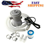 Electric Swimming Pool Filter Pump For Above Ground Pools Cleaning Tool 110v U