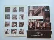 The Beatles At The B.b.c. 1995 Promotional Cd Press Pack And 9 Track Sampler Cd