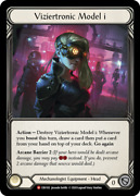 Cold Foil Viziertronic Model I Crucible Of War 1st First Edition Flesh And Blood