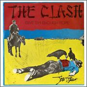 The Clash 1978 Signed Give Em Enough Rope Album Promo Paper Sleeve Uk