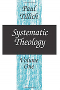 Tillich Paul-systematic Theology V01 Book New
