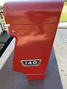 International Farmall 140 Tractor Front Radiator Grill Cover. Great Shape.