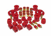 Prothane Total Complete Suspension Bushing Kit Ford Focus And Svt 00-06 Red