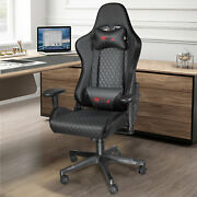 Ergonomic Gaming Chair Leather Computer Office Seat Racing Swivel Recliner