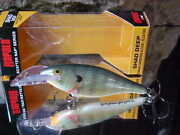 Lot Of 3 Rapala Scatter Rap Shad Deep 1/4oz Dscrs07-bg In Bluegill For Bass