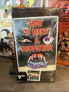 How To Make A Monster Vhs Horror First Run Rca Columbia Sealed New Get It Graded