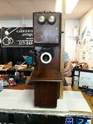 1900 Stromberg Carlson Double Deck Crank Telephone. Complete And Damage Free. Look