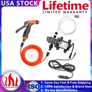 12v 100w Electric High Pressure Car Washer With Hose Water Pump Spray Gun Kit Us
