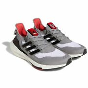 Nc State Wolfpack Adidas Ultraboost 21 Running Shoe - Gray/black New
