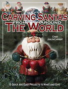 Joslyn Cyndi-carving Santas From Around The Book New