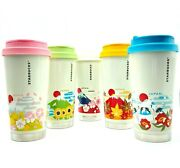 Starbucks Japan Stainless Steel Tumbler You Are Here Collection 473ml [set Of 5]