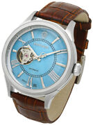 Baroque Automatic Winding Made In Japan Light Blue Mother Of Pearl Ba3004s-38br