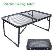 Folding Barbecue Table Outdoor Garden Camping Dining Party Self-driving Travel