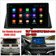 9 Android 10 Car Stereo Radio Player Wifi Gps 1+16gb For Honda Accord 8th 08-13