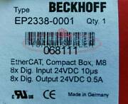 1pc Brand New Beckhoff Ep2338-0001 Module Ep23380001 In Box