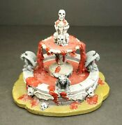 Lemax Spooky Town Haunted Fountain 03814 Retired