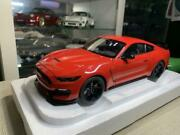 Autoart Diecast 1/18 Ford Shelby Gt350 Mini Car Vintage Mint Model Free Shipping