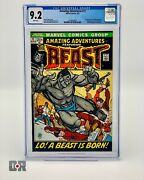 Amazing Adventures 11 1972 - Cgc 9.2 White Pages First Appearance Of Fur Beast