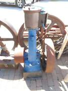 Antique Upright Live Olds And Son No 5 Steam Engine