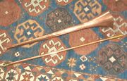 52 Inch Antique Hunting Horn Copper And Brass Beautiful