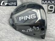 Ct255 Tour S Wrx Proto 2021 Ping G G425 Max 9.0 Real 9.25 With Spec Sheet