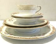 Noritake Harmony 6 Piece Place Setting Bone China Made In Occupied Japan A+