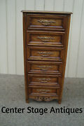 59425 French Country Dixie Furniture Lingerie Chest High Chest Dresser