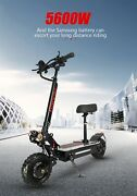 Electric Scooter Adult Dual Motor Super Fast Speed 11inch Tires 60v 5600w