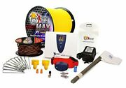 Max Grade Ultimate Performance Electric Dog Fence 1000and039 Kit 1 Acre 1 Dog