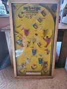 5 In 1 Electric Poosh M Up Big 5 Vintage Pinball Game By Northwestern Products