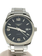 Longines Automatic Watch/analog/stainless/blk