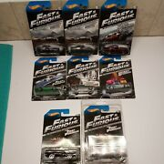 Hot Wheels Fast And Furious Set Of 8,2013 Official Movie Merchandise.