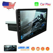 10.1 Car Stereo Apple/android Carplay Touch Screen Single 1din Radio Bluetooth