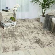 Nourison Gleam Abstract Shimmer Area Rug