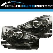 Lh+rh Genuine Xenon Headlights Pair For Lexus Is250/350/300h Gse30/31/ave30 And03913-