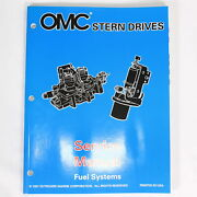 Johnson Evinrude Omc Oem Stern Drives Service Manual Fuel Systems Manual