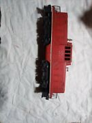 Vintage Red Lionel 027 Diesel Train Used But In Good Condition