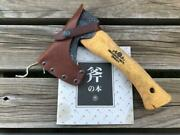Gransfors Bruks Hand Hatchet 413 With Leather Case Axe Sweden Camping Tool